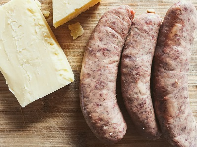 Beef and Cheddar Sausages - Drycreekmeats Online Butchery