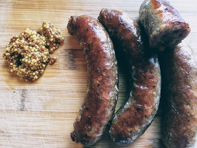 Beef and Double Mustard Sausages - Drycreekmeats Online Butchery