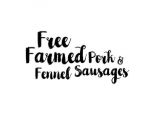 Free Farmed Pork & Fennel Sausages - Drycreekmeats Online Butchery