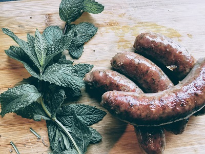 Lamb and Mint Sausages - Drycreekmeats Online Butchery