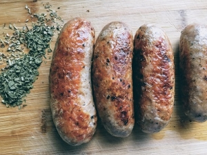 Pork and Herb Sausages - Drycreekmeats Online Butchery